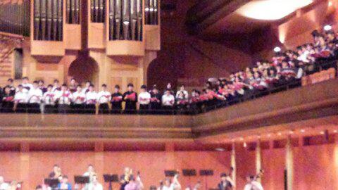 国際音楽祭オペラ合唱に参加